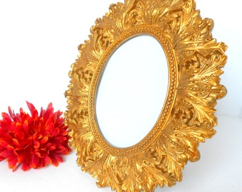 4 x 6, Oval Picture Frame, Ornate Picture frame, Oval Photo Frame, Gold Photo Frame, Picture Frame, Gold Oval Frame, Oval Gold Frame