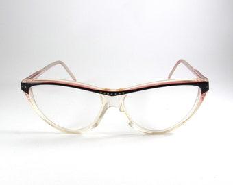 Cat Eye Glasses, Renor, Vintage Eyeglasses, Best Friend Gift, Eye Glasses Frames, Glasses Frames, Eye Glasses, Vintage Glasses, 70s