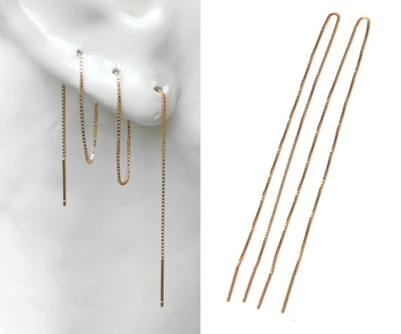 jewelry img long earrings chain design sloane products