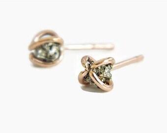 Earrings: Gem Stud