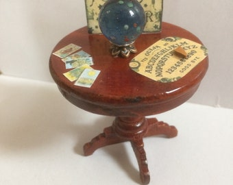 1/12 scale fortune teller table  tarot witch