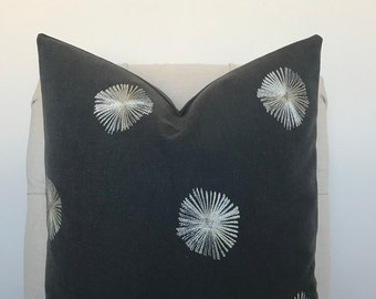 Onyx Patterned Pillow