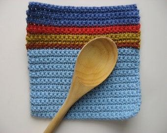 100% cotton pot holder