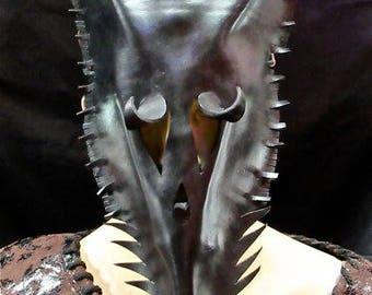 Jackal Leather Mask