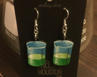 Beaker earrings