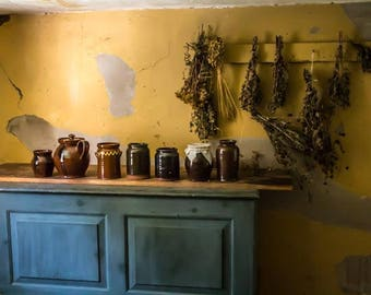 HERBS AND JARS