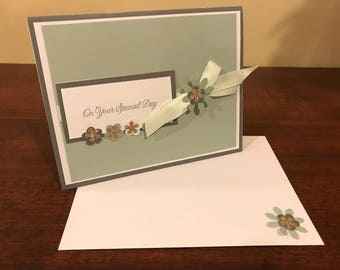 On Your Special Day Flower Card