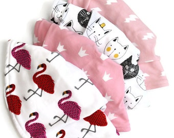 Baby bib gift set-baby bibs -baby gift set-baby bib set-baby gift basket-new baby gift basket-baby gift pack -baby shower set, bandana bibs