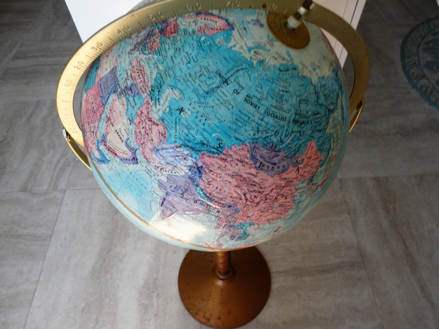 listing world series replogle nation stand floors il agmq floor globe vintage fullxfull atlas with