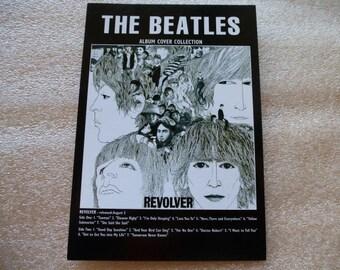 carte postale THE BEATLES couverture de l' Album Revolver cover collection