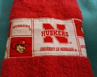 Nebraska Huskers Hand Towel