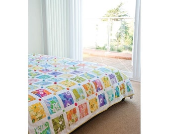 Blooming Marvellous Bed Quilt Pattern Download 803128