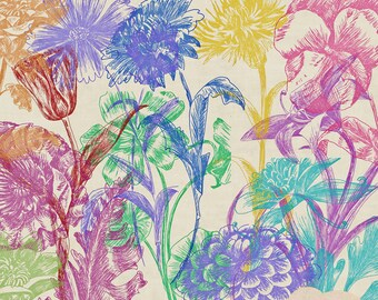photoshop brushes - botanical brushes 2 - for photography or scrapbooking - commercial use allowed