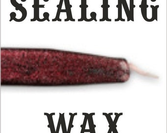 Granite color traditional wax sticks with wicks - SPECIAL at half price - 10 pieces