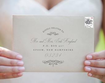 Envelope Addressing - Wedding Envelope Addressing