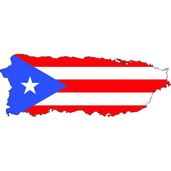 puerto rico rican san juan island country national nation flag rh etsy com puerto rico island clip art puerto rico island clip art