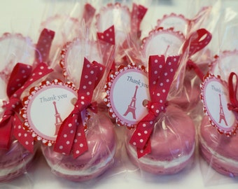 25 FRENCH MACAROON Soap Favors - Macaron Soap Favor, Baby Shower, Wedding, Bridal Shower, French / Paris Birthday,