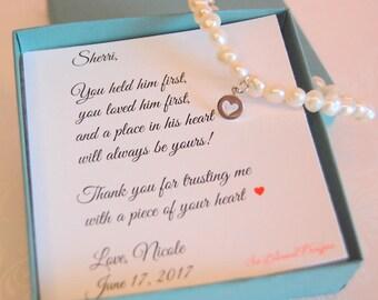 Mother of the Groom Bracelet, Mother of  Bride, Mother in law gift, future mother in law, mother of groom from bride, mother in law gift