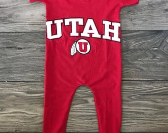 University of Utah Romper PICK YOUR SIZE!