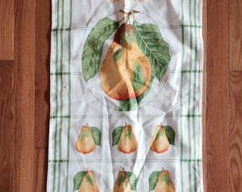 Vintage La Poire Pear Kitchen Towel