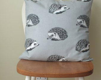 Hedgehog animal print cushion cover