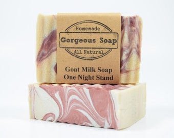 One Night Stand Goat Milk Soap - All Natural Soap, Handmade Soap, Homemade Soap, Handcrafted Soap