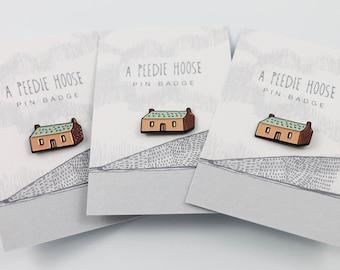 Peedie House Pin
