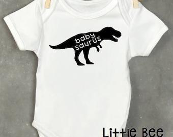 Baby Dino, Baby saurus, Dinosaur Onesie, Dinos,  Baby Onesie, New Baby Gift, Dinosaur, Baby Shower, Funny baby, New baby, Pregnancy