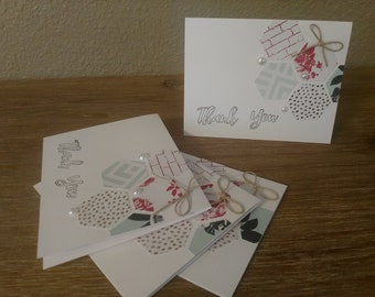 4 pack thank you cards