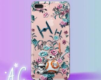 Star Wars iPhone 8 Case Bb8 iPhone 7 Plus Case iPhone 6S Case Flowers iPhone Se Case iPhone 5S Case iPhone X Case Star Wars Art iPhone 4 4S