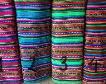 Ethnic fabric peruvian fabric 4 yards bundle