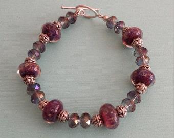 Deep Purple Bracelet