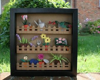 Botanical Art, Paper Art, Paper Plant, Green, Plant Lover, Wall Art, Paper Flower, Handmade, Garden Lover, Paper Wall Art, Gift for mum