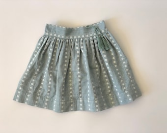 SAMPLE SALE - Rae Skirt in Teal - Size 3/4