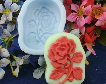 Flower Flexible Silicone Mold Silicone Mould Candy Mold Chocolate Mold Soap Mold Polymer Clay Mold Resin Mold R0291