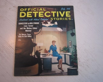 Official Detective Stories July 1958 - high grade