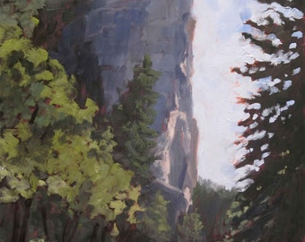 Lovers Leap - Looking West - Philmont - New Mexico - Limited Edition Fine Art Landscape Print