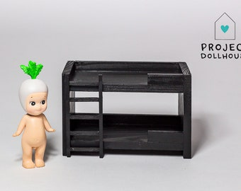 Black Bunk Bed Doll House
