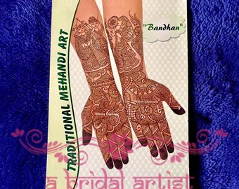 Henna Design Book: Bandhan - Traditional Mehndi Art by Bhavini Gheravara