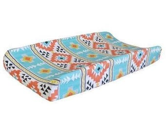 Changing Pad Cover | Tribal Four Corners