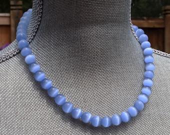 Handmade Moonstone Beaded Necklace or Bracelet