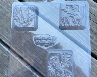 Winged Beasts Soap Mold