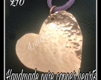 Pure copper heart