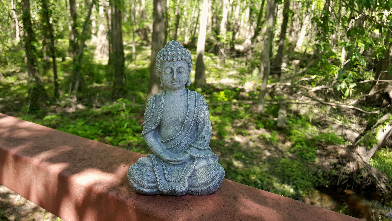 Buddha Statue Concrete Buddha Garden Statue Zen Garden