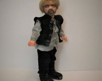 1:12 OOAK BJD Dollhouse inchscaled doll Game of Thrones' Tyrion Lannister