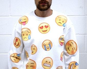 Emoji Mixed Emotions Sweatshirt