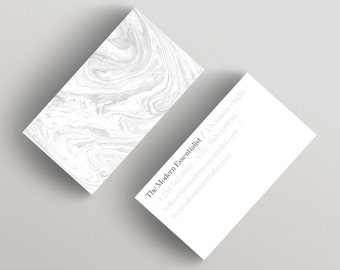 Modern Light | Minimalist Business Card Template | Business Card Template