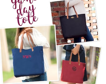Tailgate tote bag , monogrammed tote bag , tailgate party tote , college football tote , personalized tote