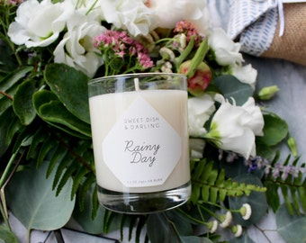 SALE! Rainy Day { soy candle }