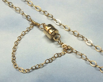 26 14k Gold Chain 28mm Cable Chain 14k Gold Custom